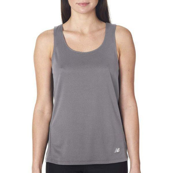 Daily Steals-New Balance Women's Tempo Running Singlet Tank Top - 8 Colors-Women's Apparel-GREY-L-