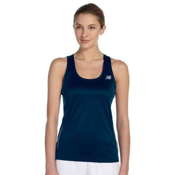 Daily Steals-New Balance Women's Tempo Running Singlet Tank Top - 8 Colors-Women's Apparel-NAVY-XS-