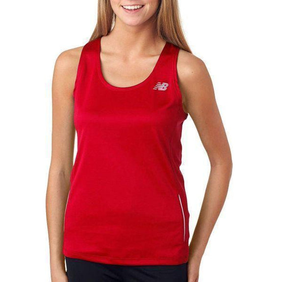 Daily Steals-New Balance Women's Tempo Running Singlet Tank Top - 8 Colors-Women's Apparel-RED-XS-