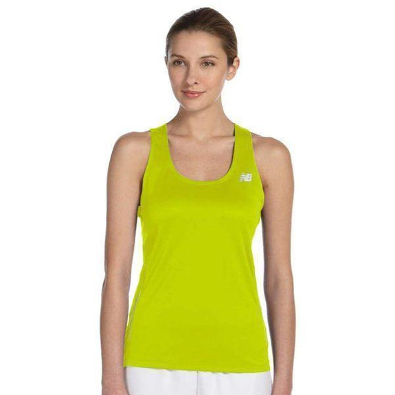 Daily Steals-New Balance Women's Tempo Running Singlet Tank Top - 8 Colors-Women's Apparel-SAFETY GREEN-XS-
