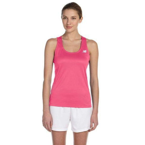 Daily Steals-New Balance Women's Tempo Running Singlet Tank Top - 8 Colors-Women's Apparel-SAFETY PINK-XS-