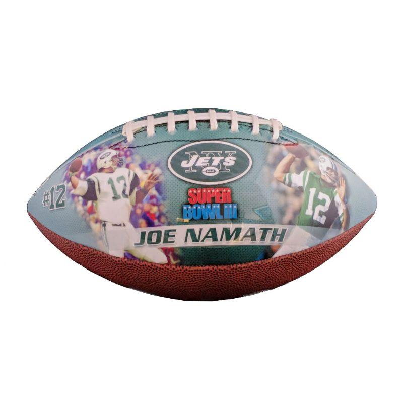 New York Jets - Joe Namath Sports Memorabilia Fodbold-Daily Steals