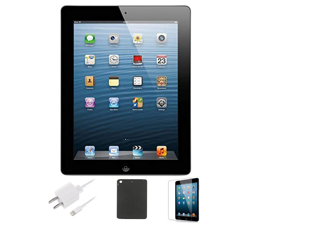 Apple iPad 3 (64GB, WiFi) with Case and Screen Protector Bundle-Daily Steals
