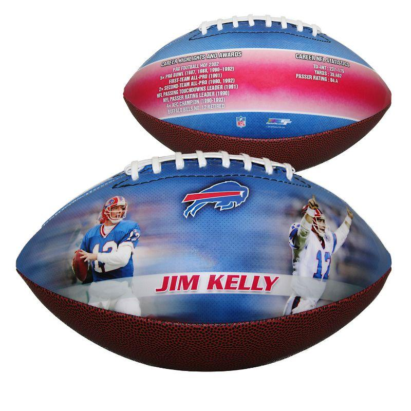 NFL Buffalo Bills - Jim Kelly - Sports Memorabilia Fodbold-Daily Steals