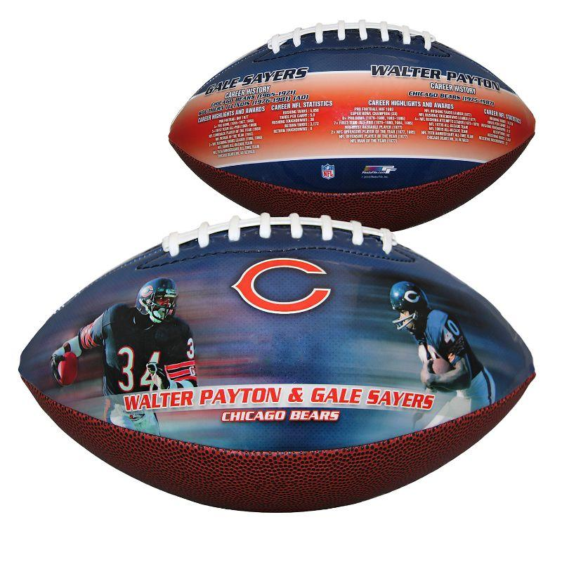 NFL - Chicago Bears - Payron, Sayers - Sports Memorabilia Football-Daily Steals