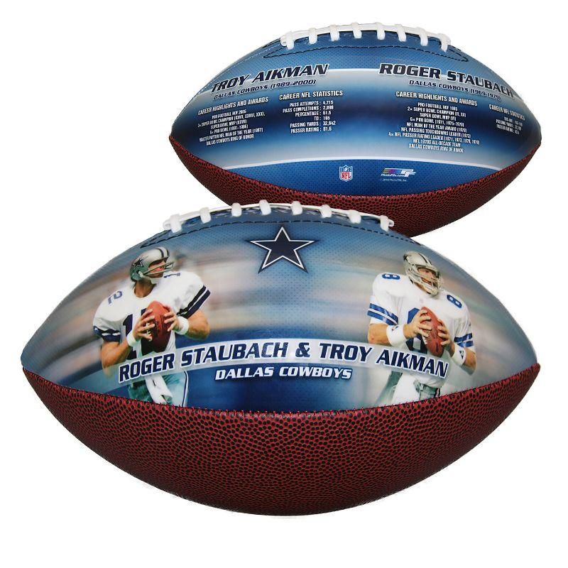 NFL Dallas Cowboys - Staubach, Aikman - Sportsmemorabilia Fodbold-Daily Steals