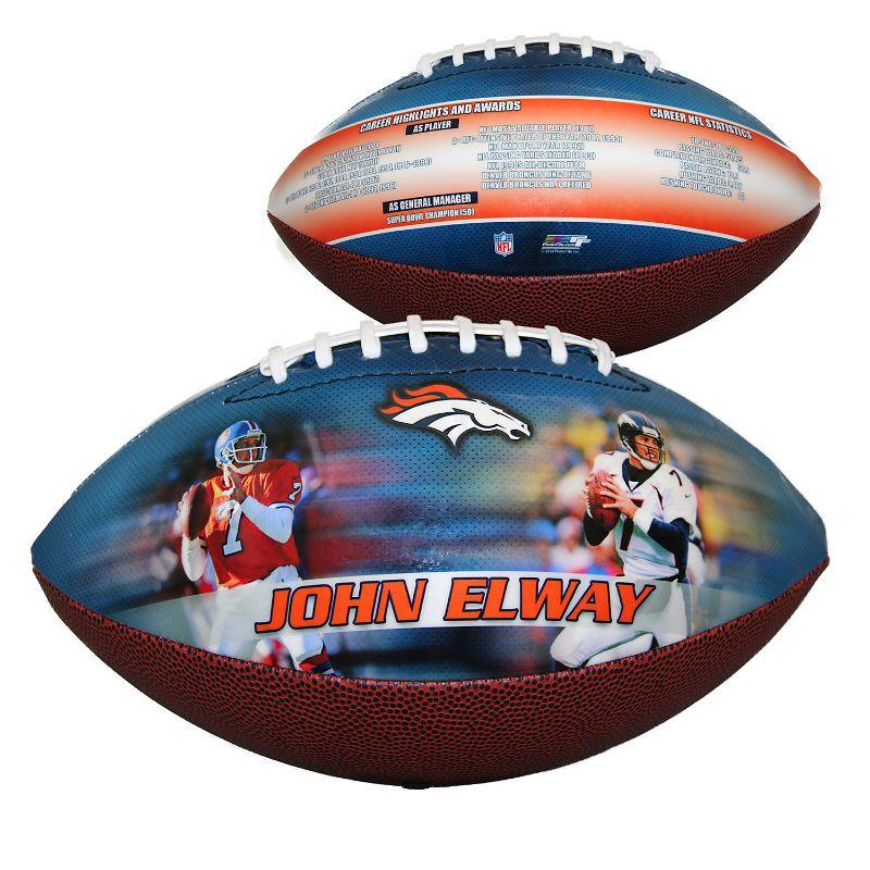 NFL Denver Broncos - John Elway - Sports Memorabilia Football-Daily Steals