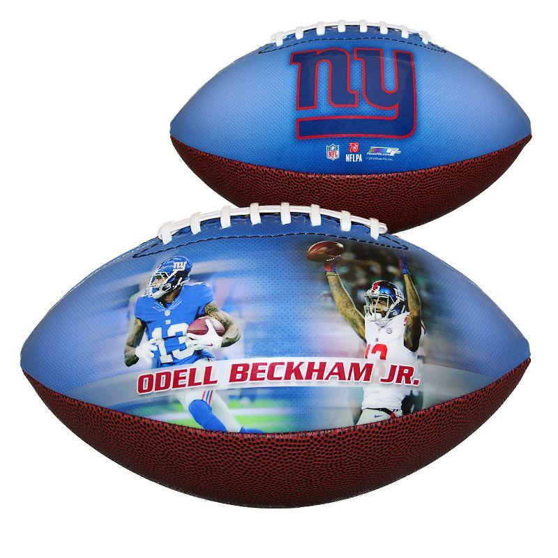 NFL NY Giants - Odell Beckham Jr. - Sports Memorabilia Football-Daily Steals
