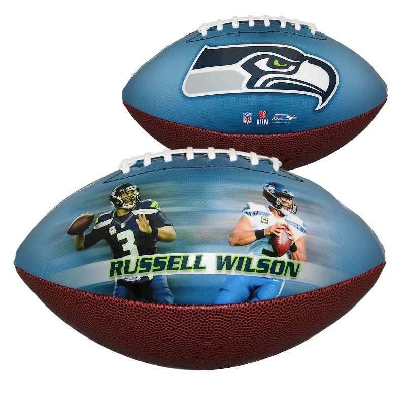 NFL Seattle Seahawks - Russel Wilson - Sports Memorabilia Football-Daily Steals
