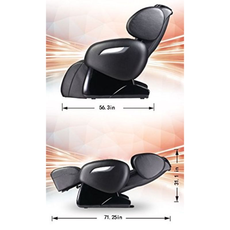 NFL Electric Full Body Shiatsu Massage Chair with Foot Roller-Daily Steals