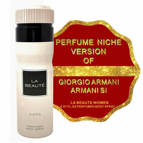 Niche Perfume Inspired by ARMANI SI BY GIORGIO ARMANI for Women - 6.67oz-Daily Steals