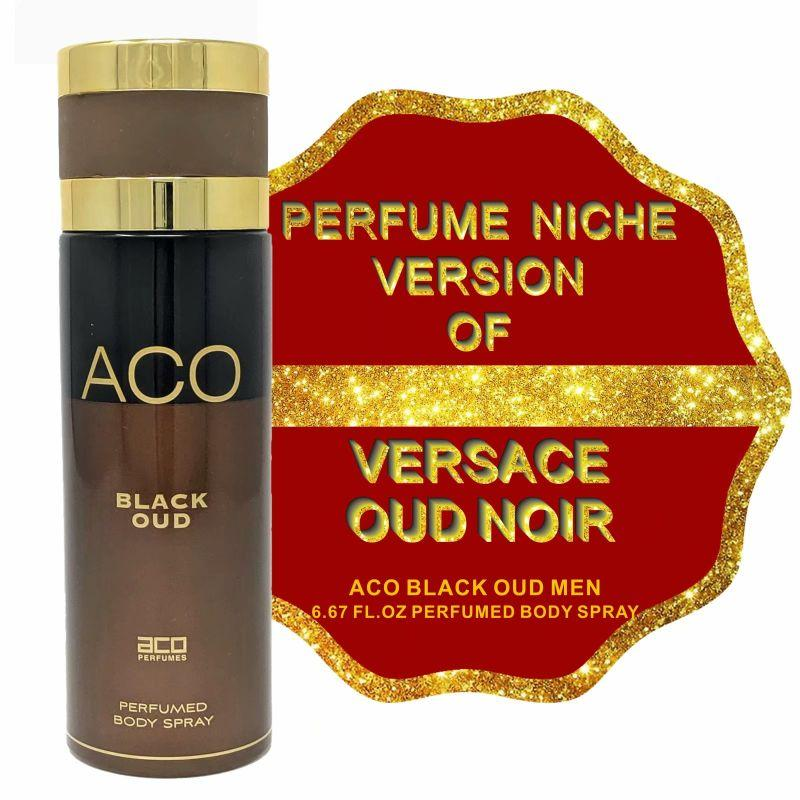 Niche Perfume Inspired by VERSACE OUD NOIR for Men - 6.67oz-Daily Steals