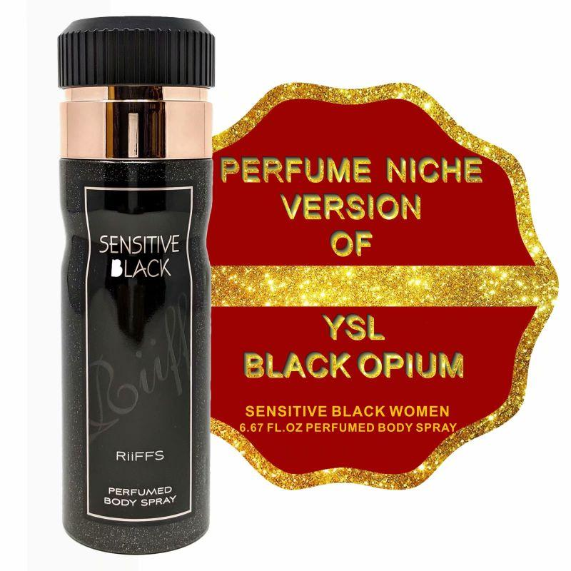 Niche Perfume Inspired by YSL BLACK OPIUM for Women - 6.67oz-Daily Steals