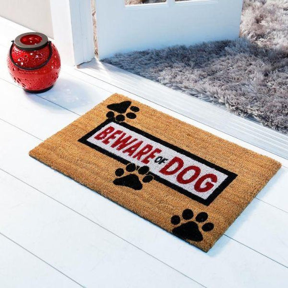 Nicole Miller Comfy Pooch Outdoor Coir Mat-Daily Steals