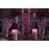 "Night Stars Battery-Powered Red Laser 6"" Candle with Remote-Daily Steals"