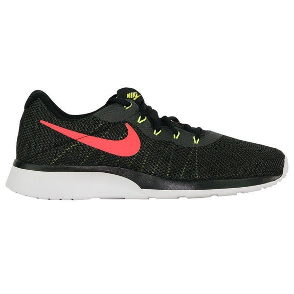Nike Men's Tanjun Racer Running Shoes-Black/Solar Red/Anthracite-8.5-Daily Steals