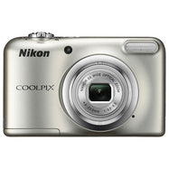 Nikon COOLPIX A10 16.1MP 5x Zoom NIKKOR Glass Lens Digital Camera - Silver-Daily Steals
