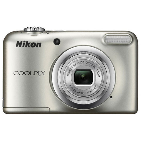 Daily Steals-Nikon COOLPIX A10 16.1MP 5x Zoom NIKKOR Glass Lens Digital Camera - Silver-Cameras-
