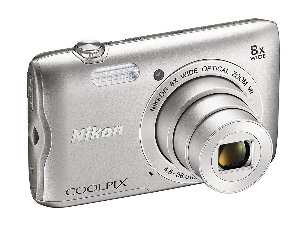 update alt-text with template Daily Steals-Nikon Coolpix A300 20.1MP 720p Digital Camera with 8x Zoom-Cameras-