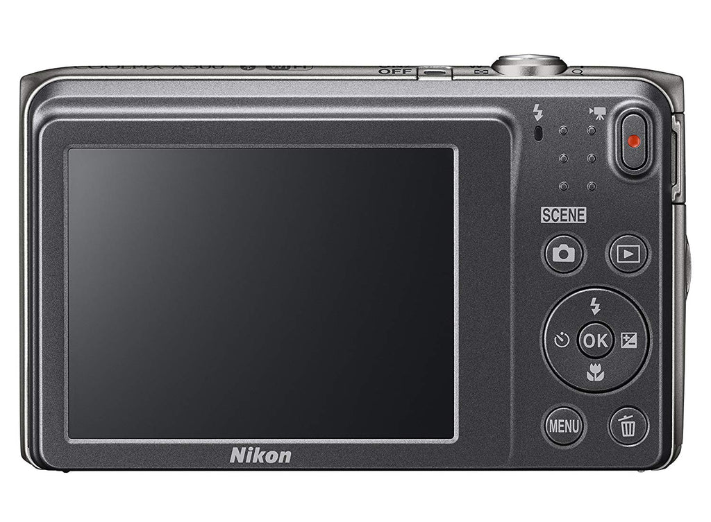 Nikon Coolpix A300 20.1MP 720p Digital Camera with 8x Zoom-Daily Steals
