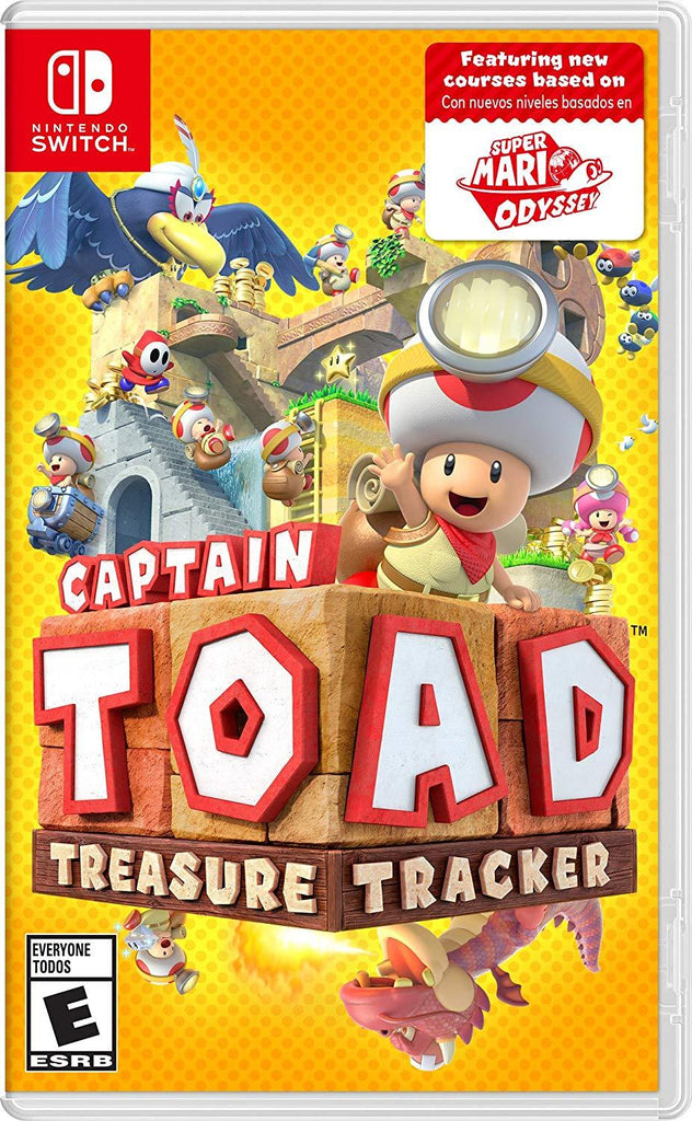 Daily Steals-Nintendo Switch Captain Toad: Treasure Tracker-VR and Video Games-
