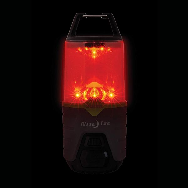 Nite Ize Radiant 300 Rechargeable Lantern with USB Recharging Cord + Power Bank-Daily Steals