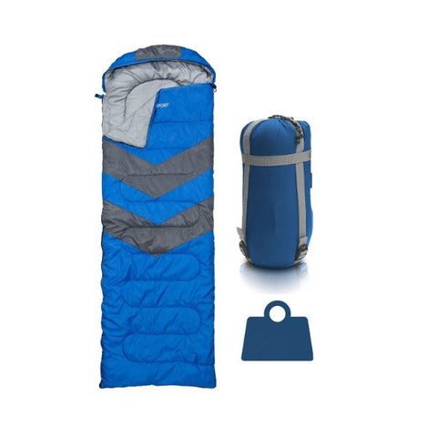 Daily Steals-AbcoSport Sleeping Bag-Outdoors and Tactical-Blue-