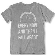 Taco Eclipse of The Heart, de temps en temps je m'effondre T-Shirt-Sports Grey-2XL-Daily Steals