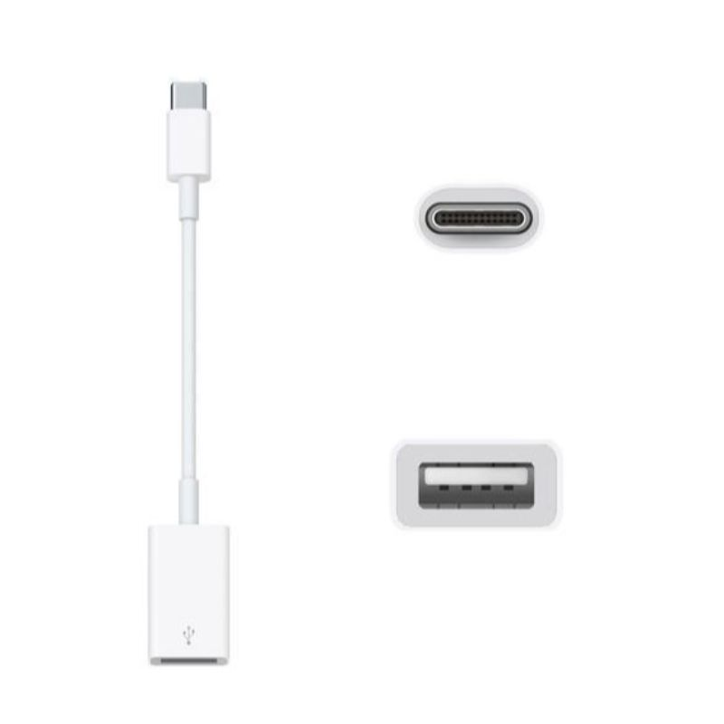 Genuine Apple USB-C to USB Adapter for Macbook Model MJ1M2AM/A-Daily Steals