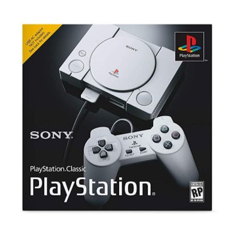 Sony PlayStation Classic Console w/ 20 Preloaded Games-Daily Steals