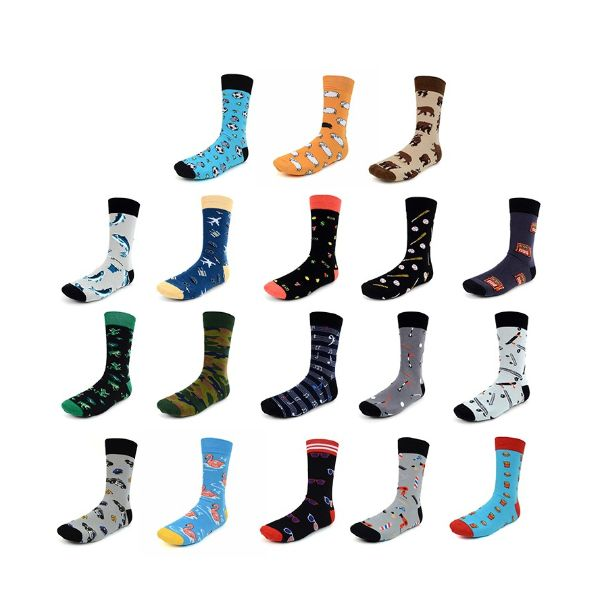 Women Or Men Novelty Socks- Assorted Styles - 2 Pack-2 Men-Daily Steals