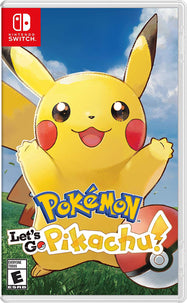Pokemon: Let's Go (Pikachu or Eevee) - For Nintendo Switch-Daily Steals