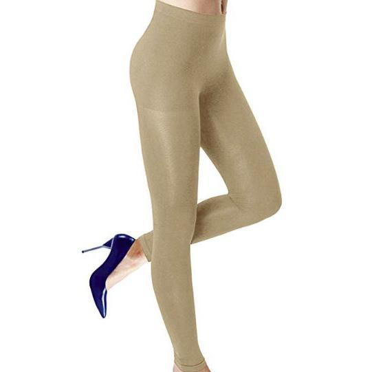 Womens Seamless Body Shaper Premium Stretch Leggings-Daily Steals
