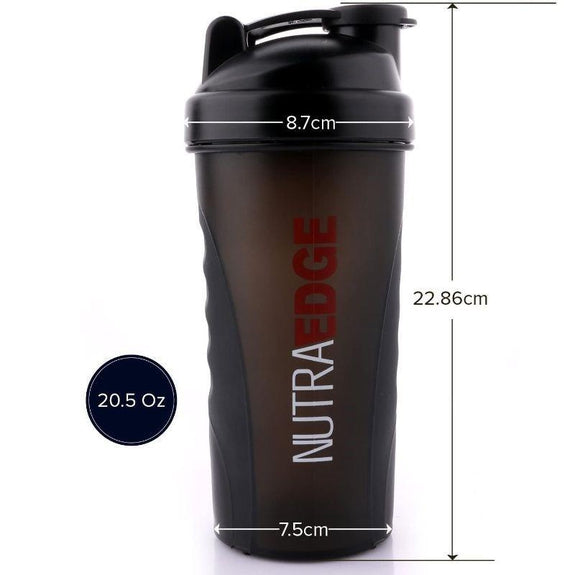 Nutraedge 20.5 Oz. Shaker Blender Bottle – BPA Free-