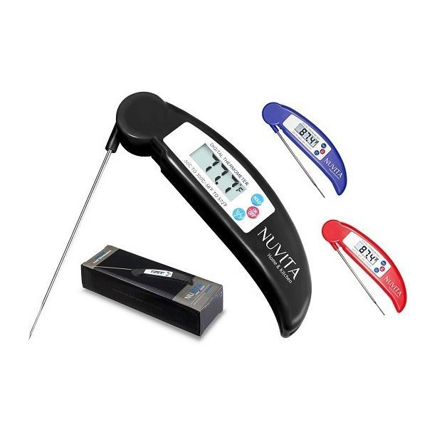 Nuvita Digital Cooking Thermometer, Instant Read with Folding Probe-Daily Steals