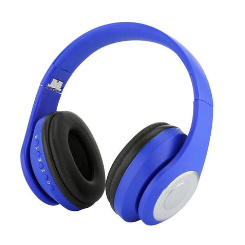 Daily Steals-Elite Audio FM Radio Wireless Headphones-Headphones-Blue-