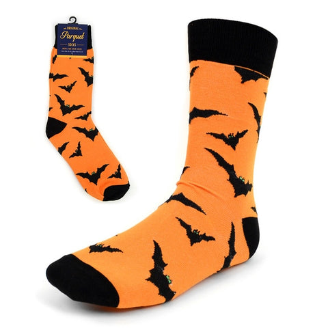 [Assorted 2-Pack] Mens Halloween Socks