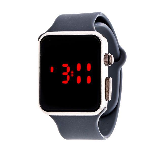 Men's Sport Digital with Rubber Strap Watch-Grey-Daily Steals