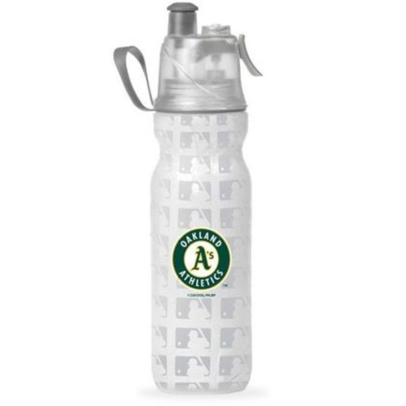O2COOL ArcticSqueeze Insulated Mist 'N Sip MLB Water Bottle - 2 Pack-Athletics-Daily Steals
