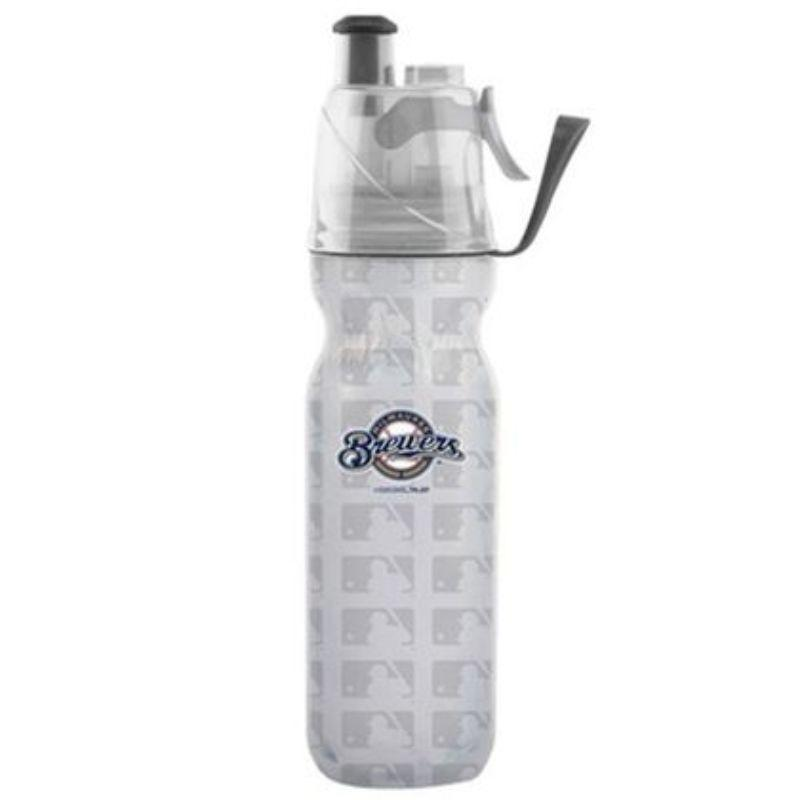 O2COOL ArcticSqueeze Insulated Mist 'N Sip MLB Water Bottle - 2 Pack-Brewers-Daily Steals