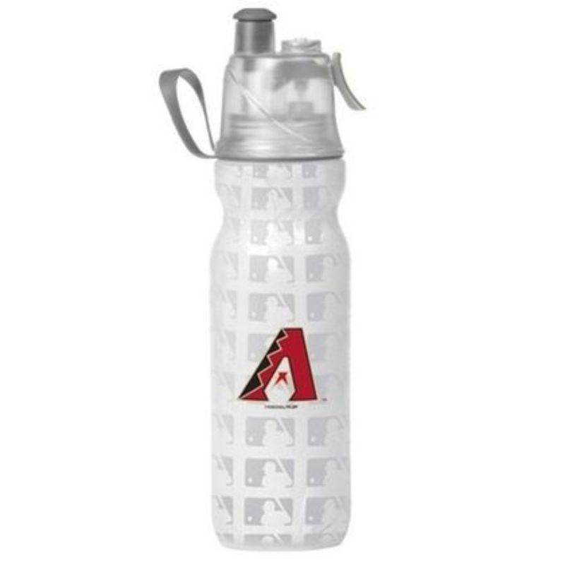 O2COOL ArcticSqueeze Insulated Mist 'N Sip MLB Water Bottle - 2 Pack-DiamondBacks-Daily Steals