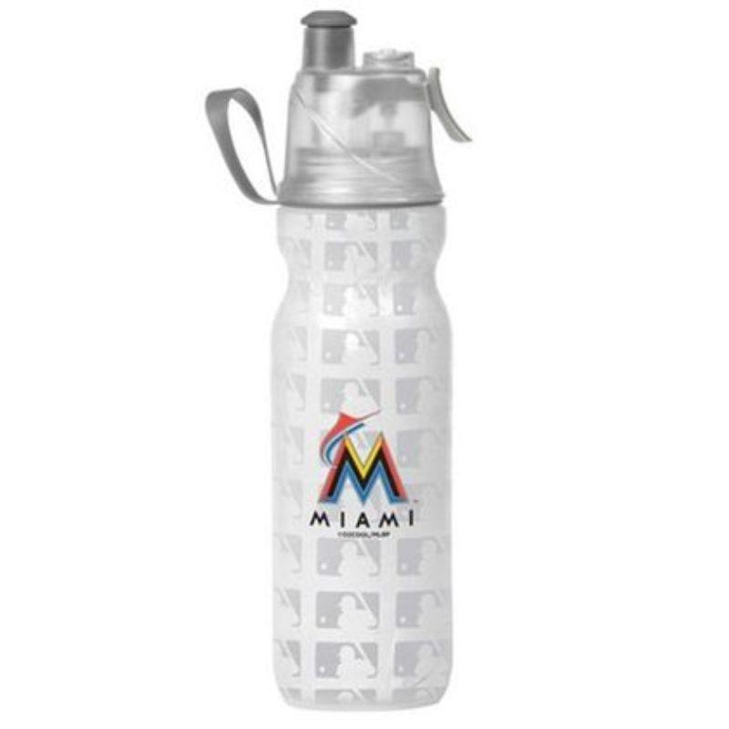 O2COOL ArcticSqueeze Insulated Mist 'N Sip MLB Water Bottle - 2 Pack-Marlins-Daily Steals
