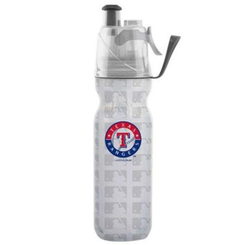 O2COOL ArcticSqueeze Insulated Mist 'N Sip MLB Water Bottle - 2 Pack-Rangers-Daily Steals