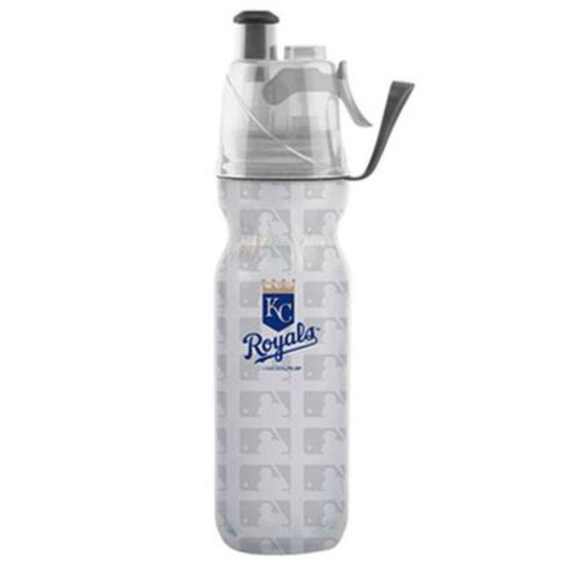 O2COOL ArcticSqueeze Insulated Mist 'N Sip MLB Water Bottle - 2 Pack-Royals-Daily Steals