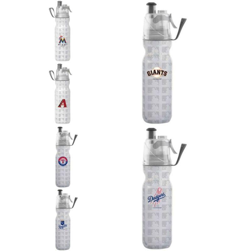 O2COOL ArcticSqueeze Insulated Mist 'N Sip MLB Water Bottle - 2 Pack-Daily Steals