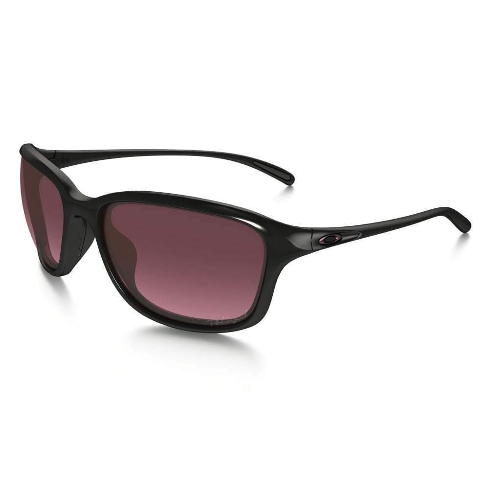 Daily Steals-Oakley She's Unstoppable Sunglasses Polished Black / Rose Polarized-Accessories-