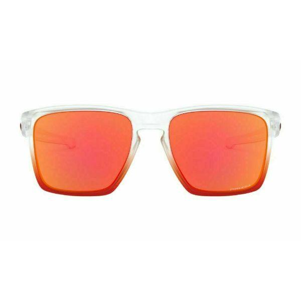 Daily Steals-Oakley Sliver XL Sunglasses OO9341-2757 Ruby Mist Prizm Ruby Lens-Sunglasses-