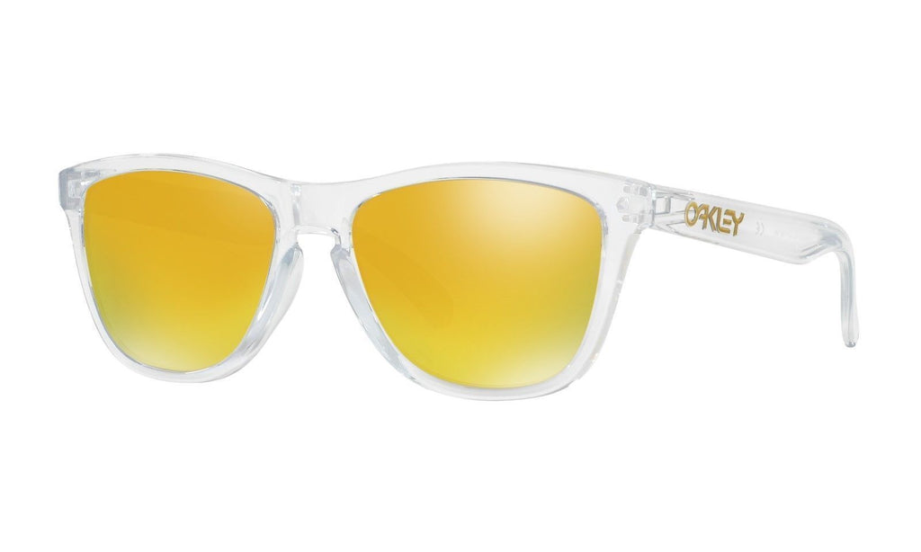 Daily Steals-Oakley Sunglasses Frogskins Crystal Collection A/F Polished Clear-Accessories-