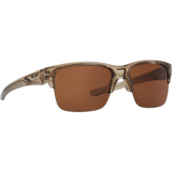 Daily Steals-Oakley Thinlink OO9316-02 Sunglasses Sepia Frame Dark Bronze Lenses-Sunglasses-