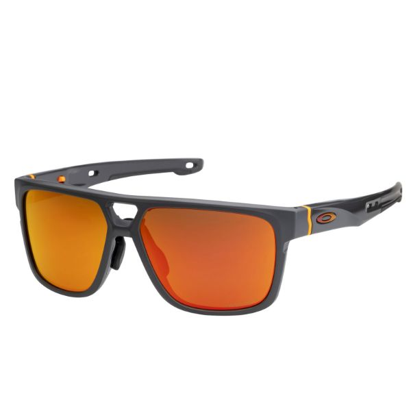 Oakley Crossrange Patch Matte Carbon Prizm Ruby Asian 9391-0560-Daily Steals